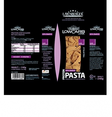 Layenberger LowCarb.one Protein-Pasta Tagliatelle, 5 er Pack (5 x 240 g) - 2